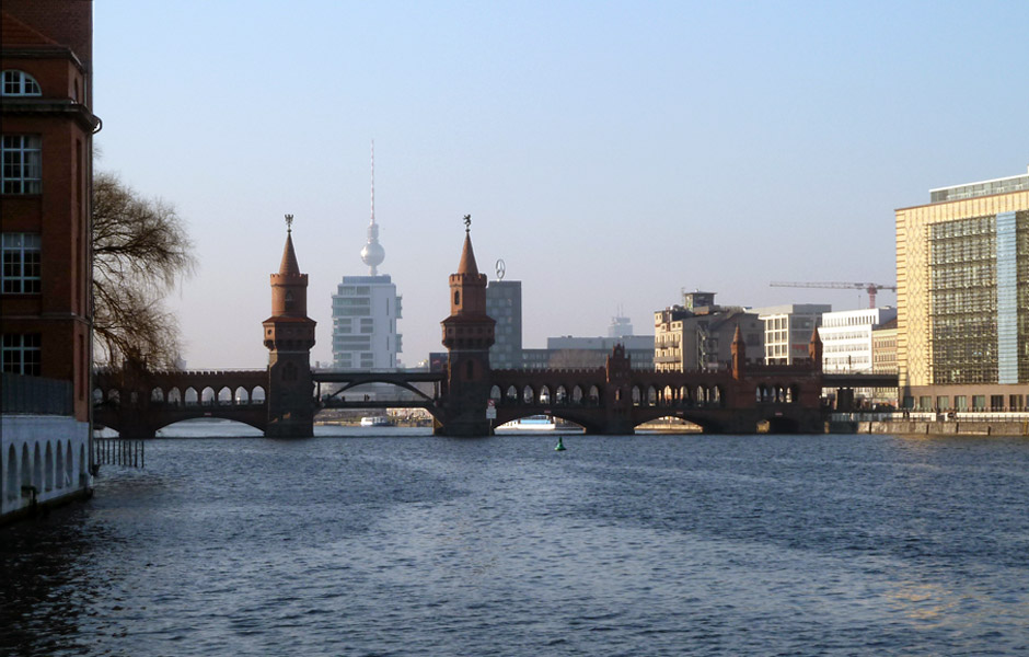 Oberbaumbrücke-Spree