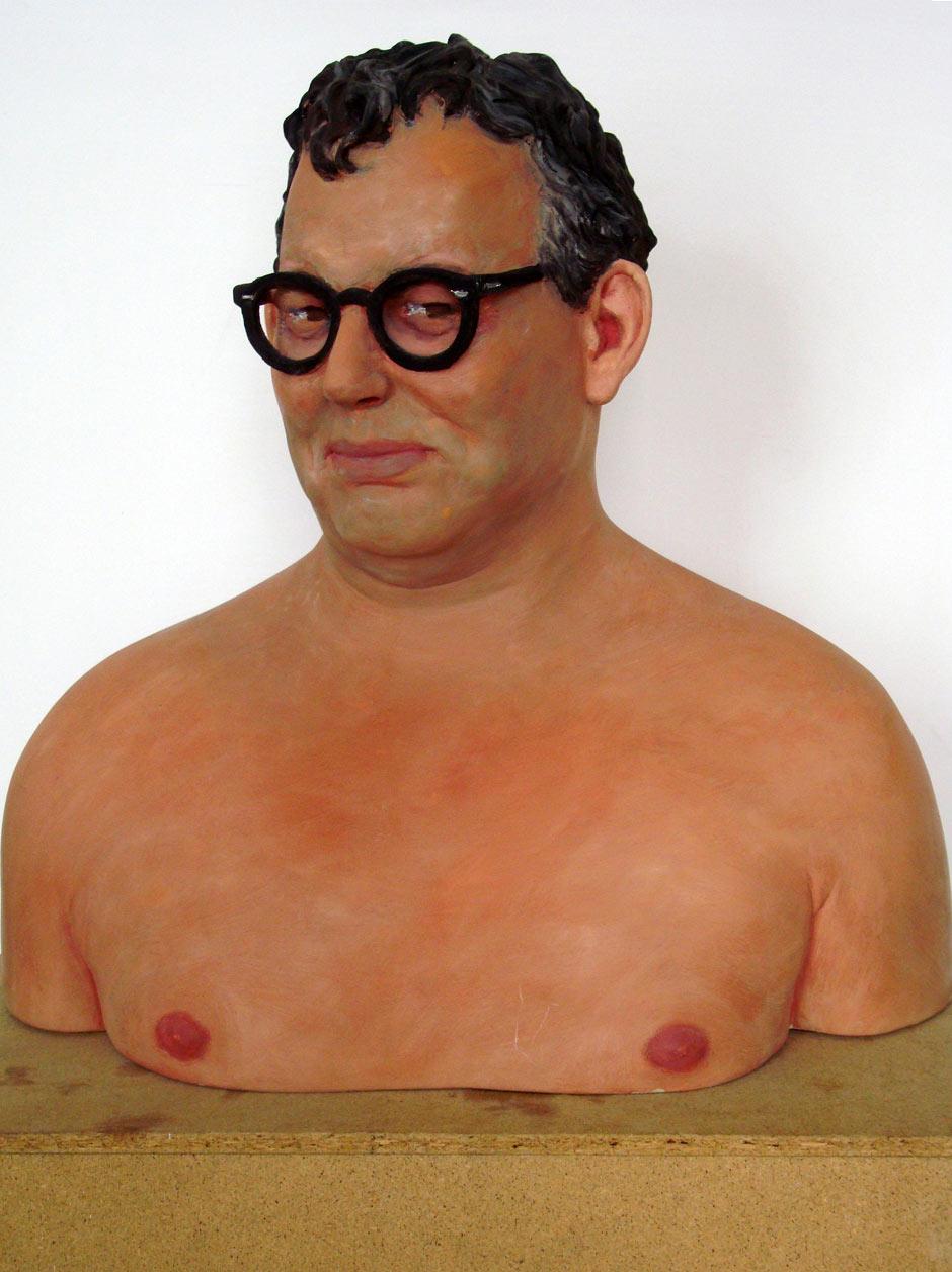 "Kai Teichert ""Johannes Falck"", 1998, 54 x 53 x30 cm"