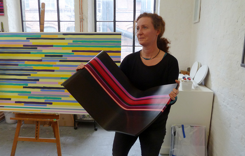 Studio Visit to DORIS MARTEN