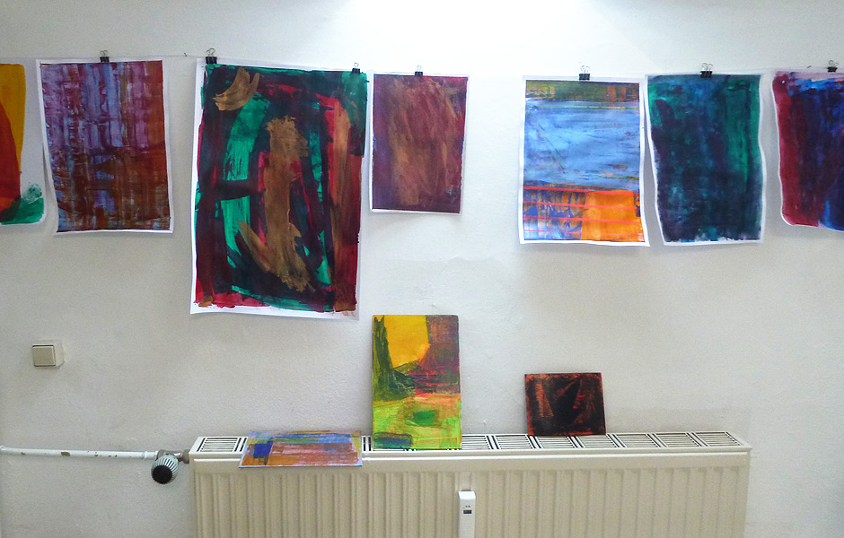 Seminar ABOUT CONCEPT AND COINCIDENCE IN ABSTRACT PAINTING by Stephanie Jünemann