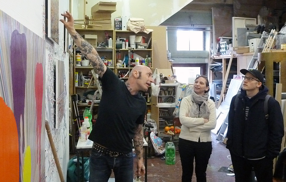 Studio Visit to MANFRED PECKL