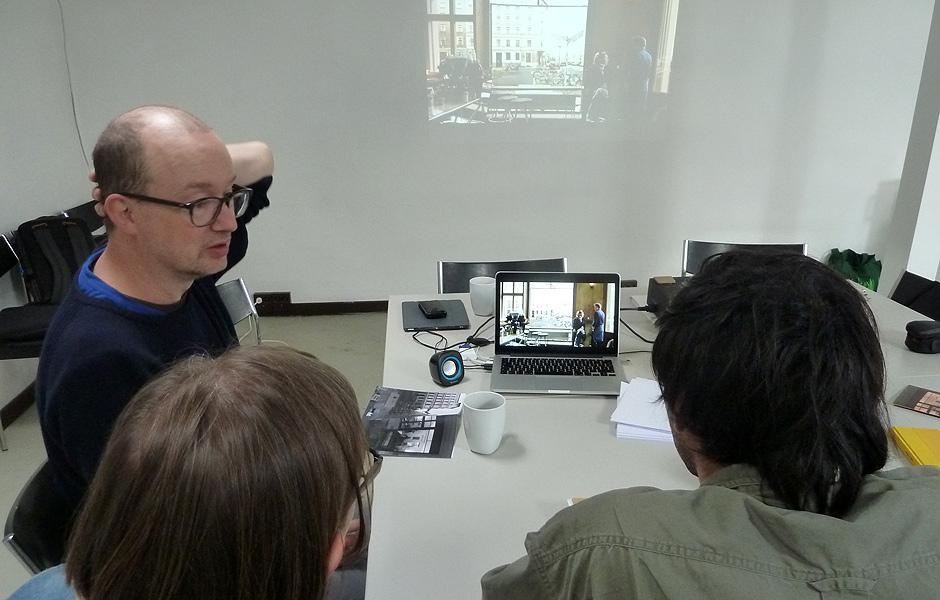 Vortrag DER NACHGEBAUTE BLICK von Andreas Koch