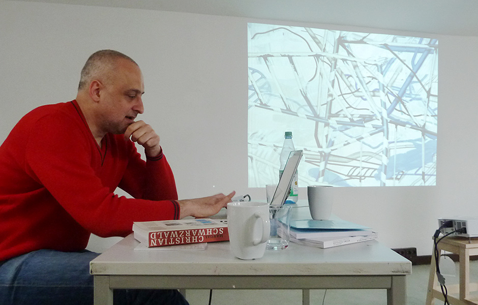 Lecture DER RISS – DRAWINGS AND CONSEQUENCES by Christian Schwarzwald