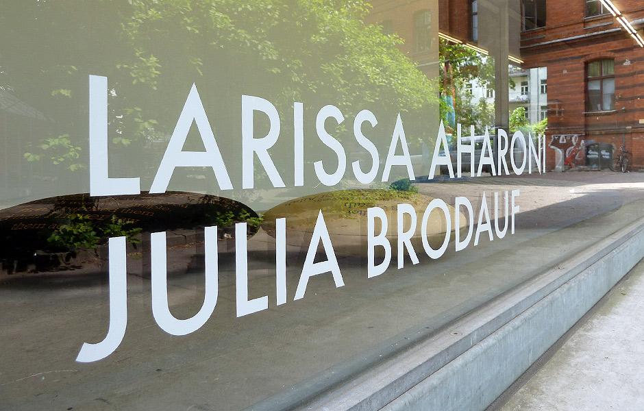Besuch LIEBESPERLEN von Larissa Aharoni & Julia Brodauf