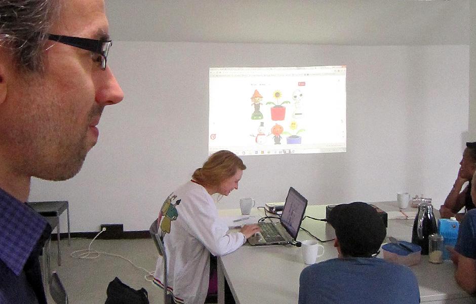 Seminar IDENTITY/REALITY CHECK by Ann Schomburg & Sascha Boldt