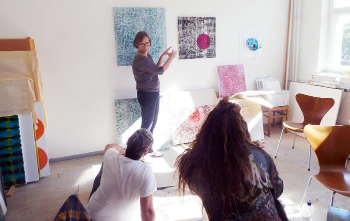 Studio Visit to STEPHANIE JÜNEMANN