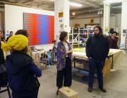 Studio Visit to PABLO GRISS