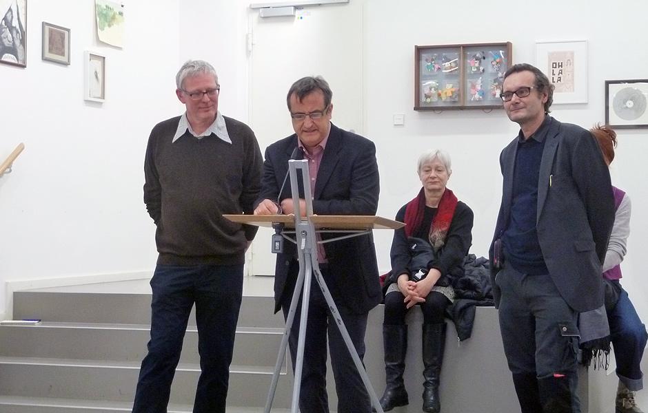 Thomas Nolden, Ralf Schmitt & Prof. Thaddäus Hüppi @ THE IMAGES OF THE OTHERS