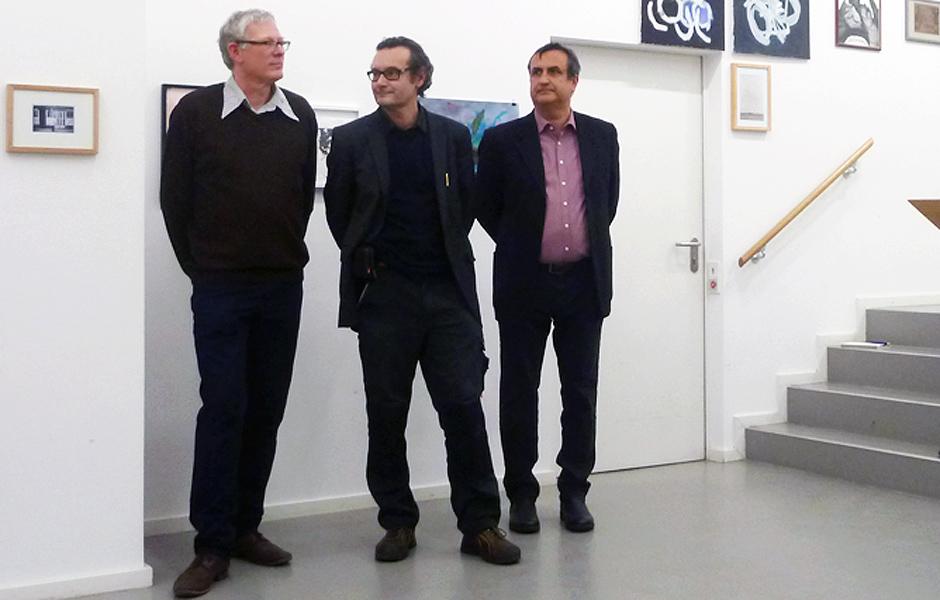 Thomas Nolden, Prof. Thaddäus Hüppi & Ralf Schmitt @ THE IMAGES OF THE OTHERS