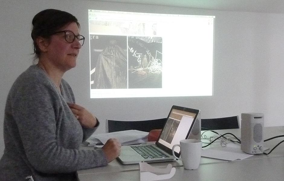 Vortrag ZEICHNUNG UND RAUM von Ursula Döbereiner