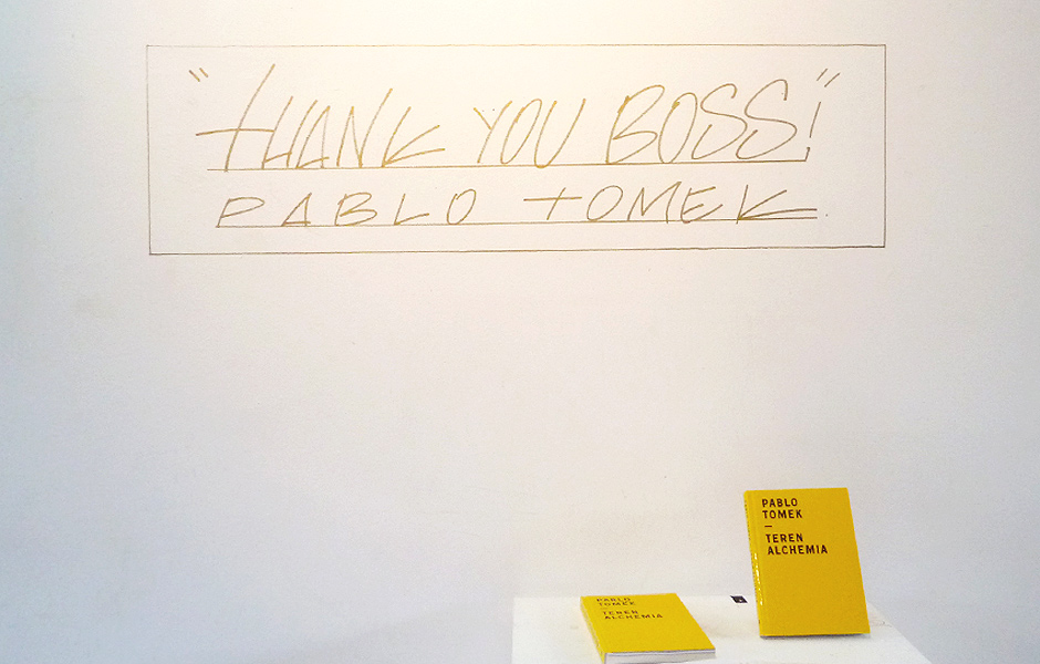 Visit to THANK YOU BOSS by Pablo Tomek