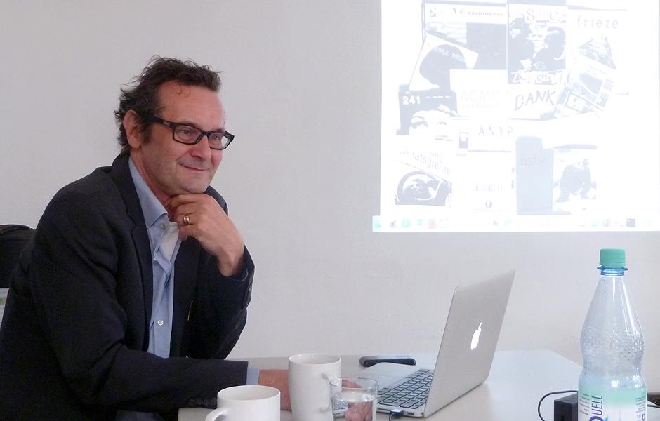 Seminar PENCHANT FOR HANGING by Prof. Thaddäus Hüppi