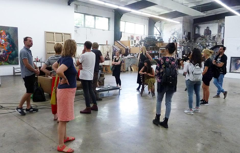 Studio Visit to JONAS BURGERT