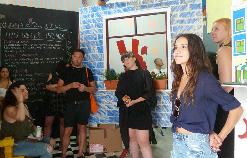 Besuch SOMEDAY'S von Aurora Sander, Josep Maynou & Jessica Lauren Elizabeth Taylor