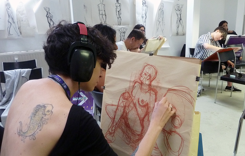 Basic Course FUNDAMENTALS OF FIGURATIVE & LIFE DRAWING by Kai Teichert