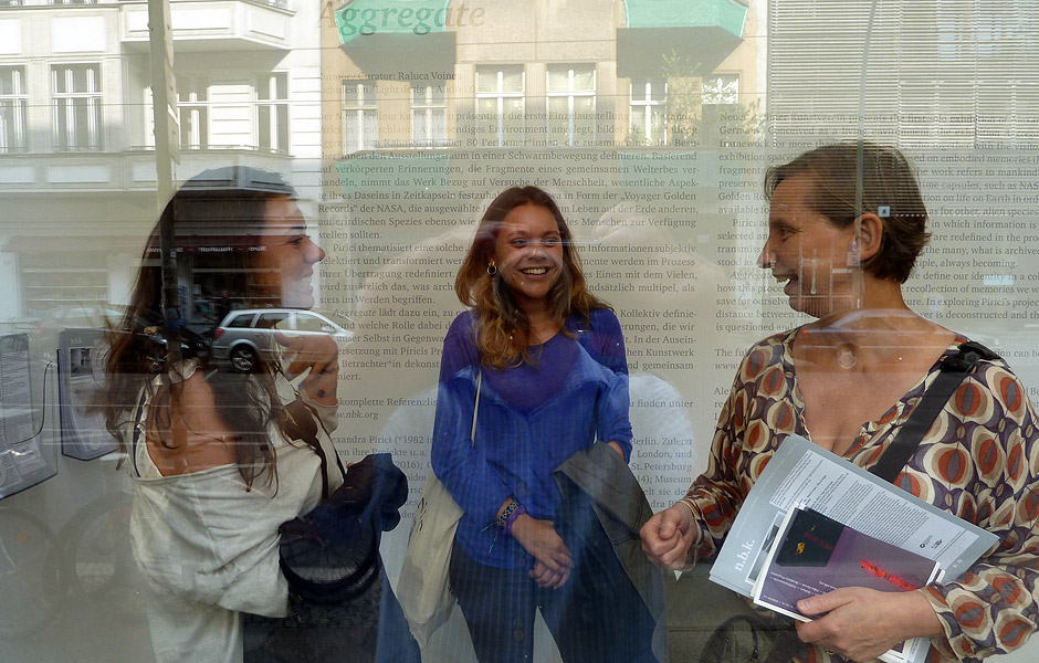 Besuch AGGREGATE von Alexandra Pirici