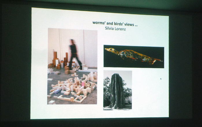 Lecture WORMS´ AND BIRDS´ VIEWS by Silvia Lorenzb