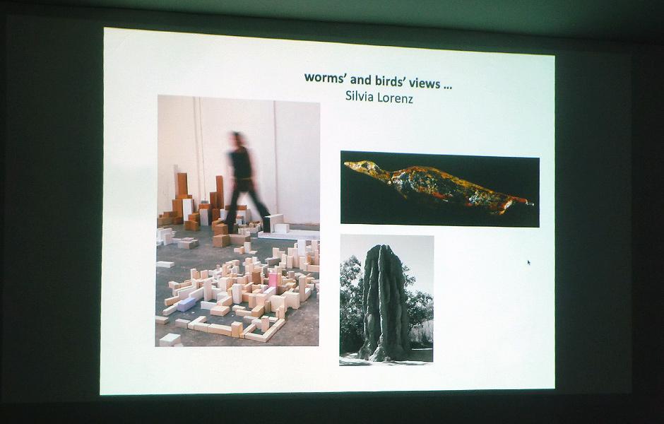 Vortrag FROSCH- UND VOGELPERSPEKTIVEN von Silvia Lorenz