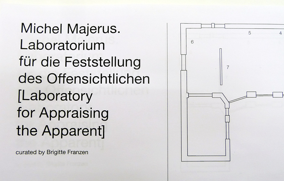 Visit to MICHEL MAJERUS. LABORATORY FOR APPRAISING THE APPARENT