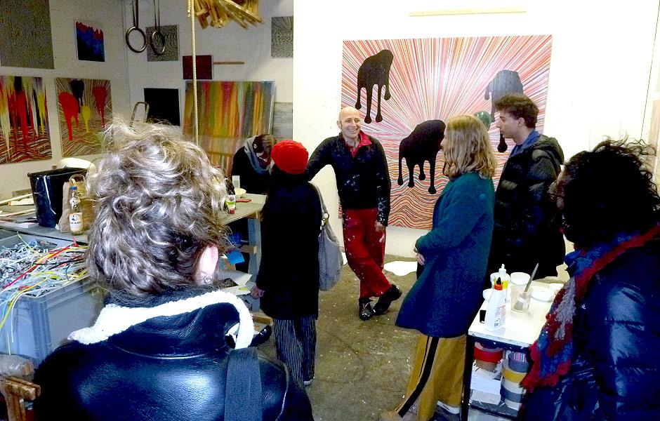 Visit to Studio MANFRED PECKL & BOTSCHAFT
