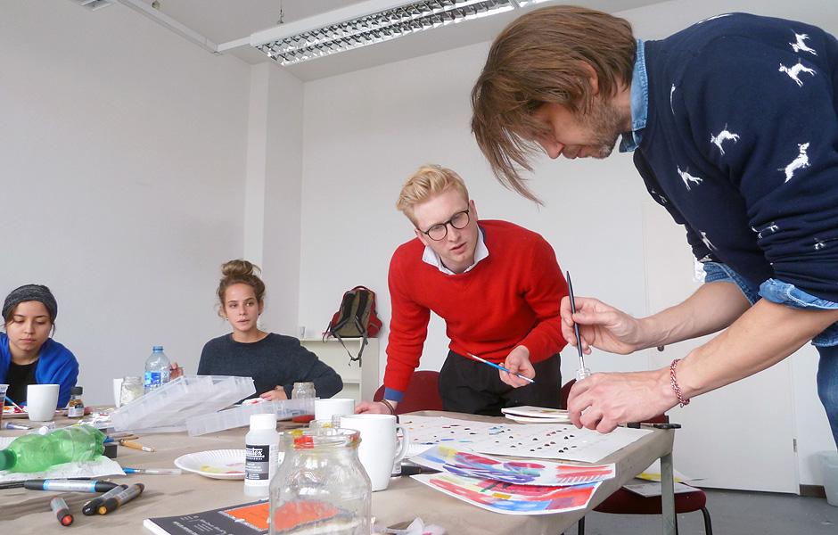 Basiskurs AQUARELL & GOUACHE von Jens Nordmann