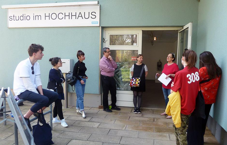 Besuch HIGH RISE – LOW FIDELITY von Konstantin Bayer & Frederik Foert