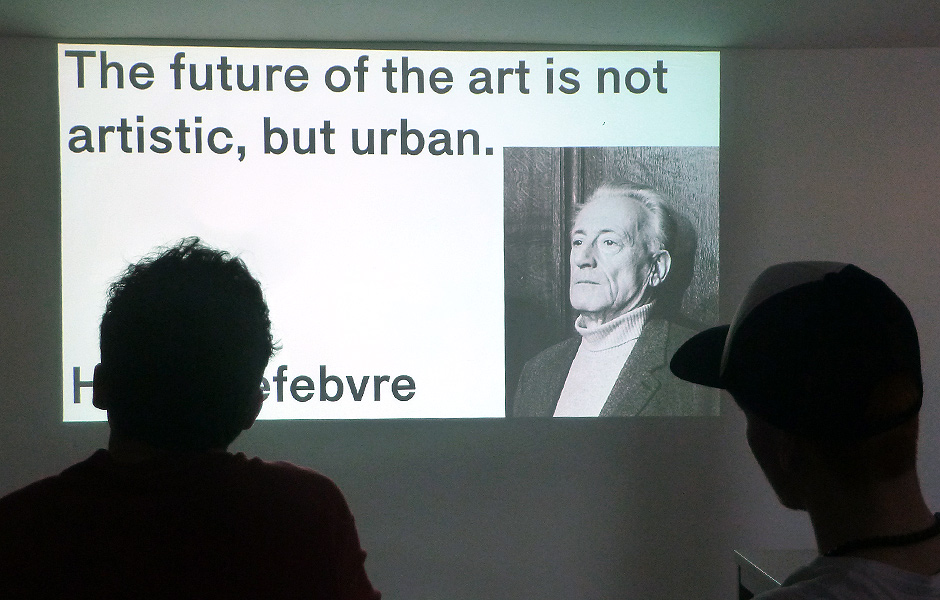 Vortrag SPACE AND BEYOND: CURATORIAL EXPERIMENTS IN ART AND ARCHITECTURE von Lukas Feireiss