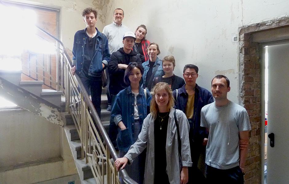 Studio Visit to TOMAS SARACENO