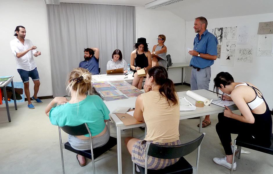 Seminar ZEICHNUNG ALS SPRACHE von Kai Teichert