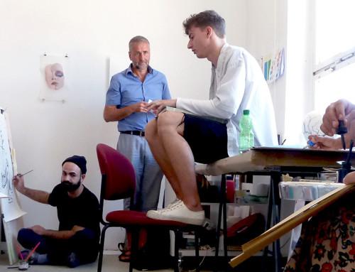 Seminar DRAWING AS LANGUAGE by Kai Teichert