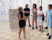 Besuch [HIER KÖNNTE IHR TITEL STEHEN] in der Kleinen Humboldt Galerie