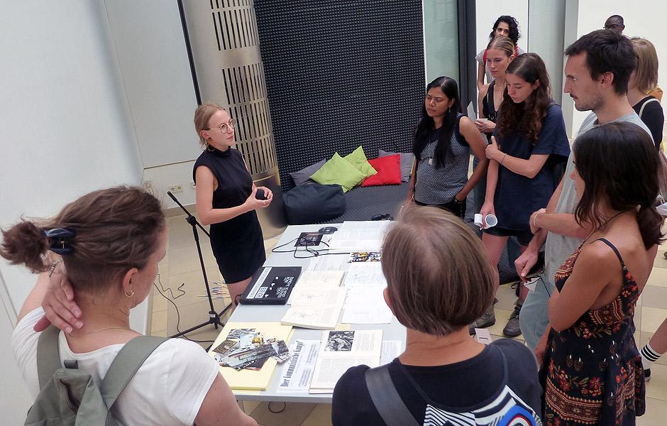 Visit to [INSERT TITLE] at Kleine Humboldt Galerie