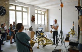 Studio Visit to PROF. KARSTEN KONRAD