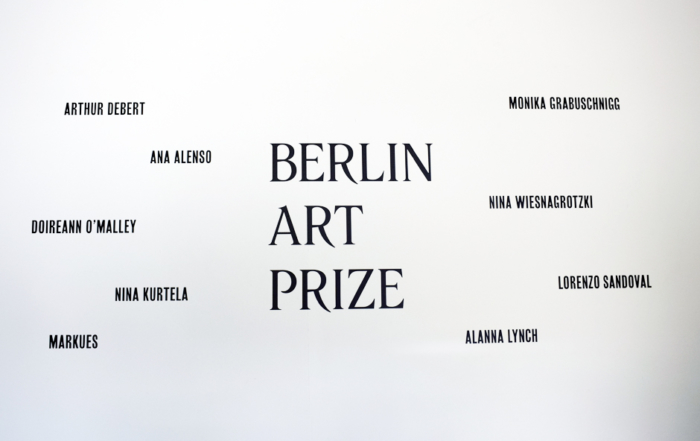 Visit to BERLIN ART PRIZE 2018
