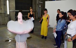 Visit to BERLIN ART PRIZE 2018
