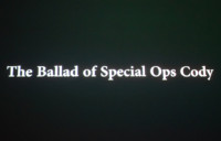 Visit to THE BALLAD OF SPECIAL OPS CODY AND OTHER STORIES by Michael Rakowitz