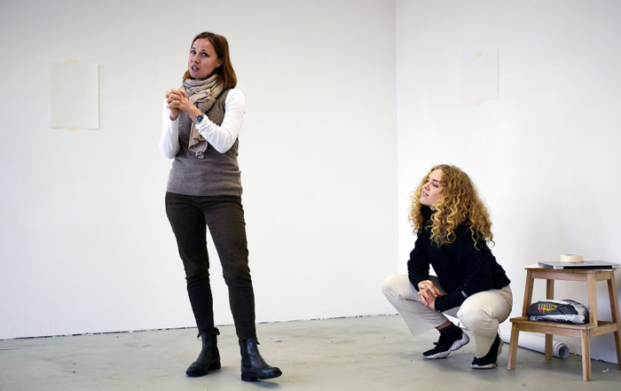 Workshop TAKE CARE von Anna Karpenko & Asta Herta