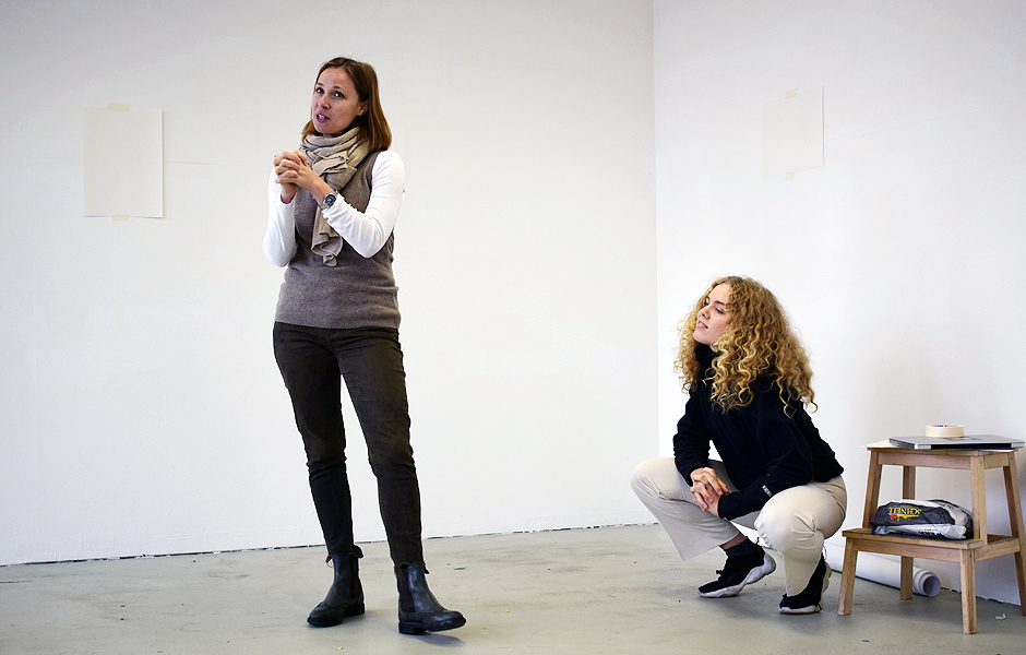 Workshop TAKE CARE by Anna Karpenko & Asta Herta