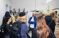 Studio Visit to TERRY HAGGERTY
