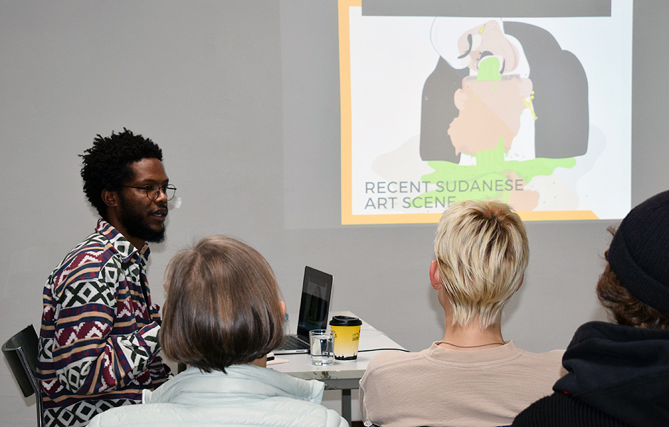 Lecture SUDAN ART SCENE by Muhammad Salah