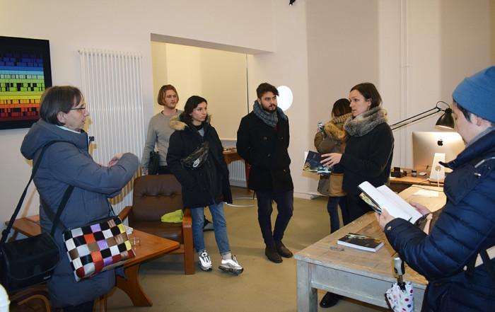 Besuch NAVIGATING POLARITIES von Marjolijn Dijkman