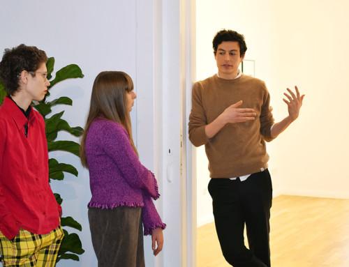 Besuch CECILIA in der Galerie Sweetwater, Berlin