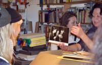 Studio Visit to PROF. ELSE GABRIEL