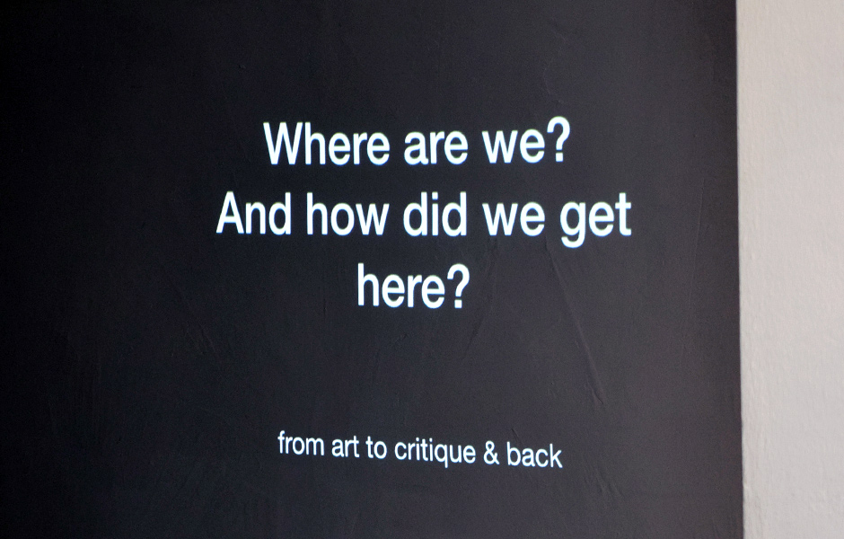 Lecture WHERE ARE WE? HOW DID WE GET HERE? by Andreas Schlaegel