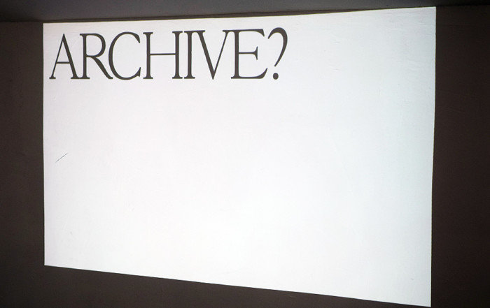 Seminar YOUR ARCHIVE IS YOUR METHOD by Man Schneider
