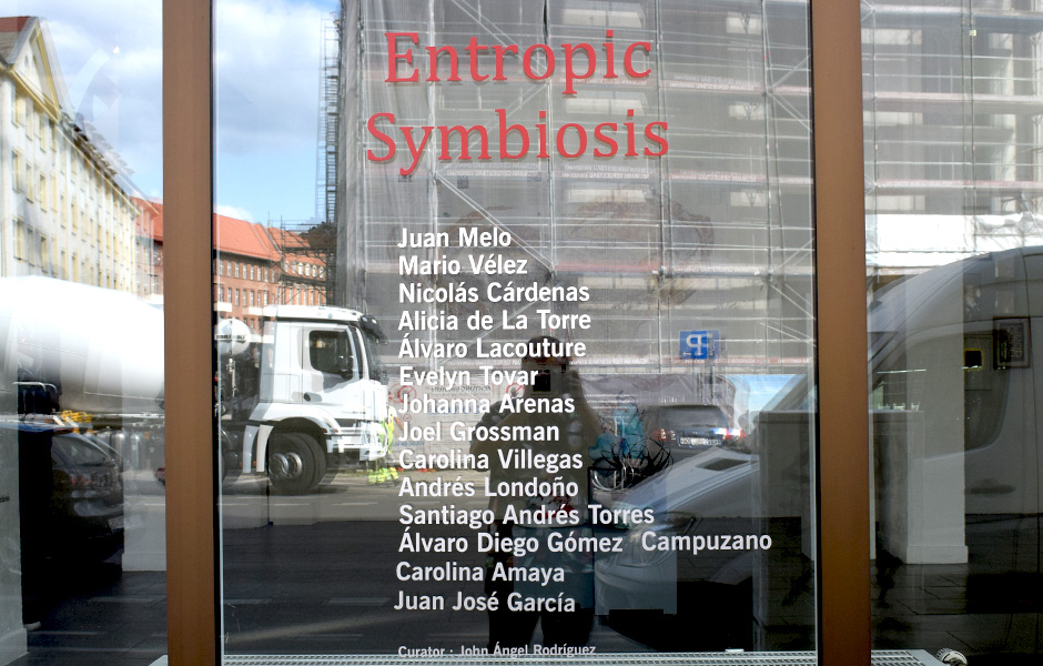 Visit to ENTROPIC SYMBIOSIS at Grey Cube Projects