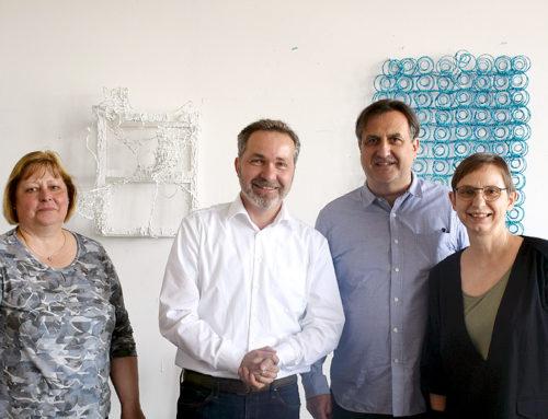 Besuch im BAI von Sören Benn & Dr. Ute Waschkowitz