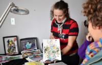 Studio Visit to CATHERINE LORENT