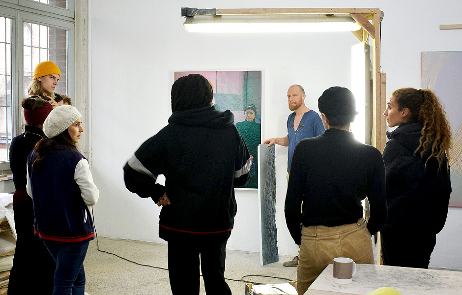 Studio Visit to WOLFGANG FLAD