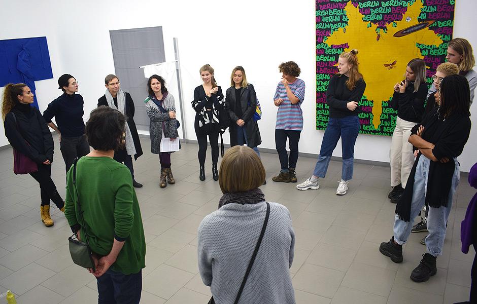 Besuch HYDRA – GOLDRAUSCH 2019 im Haus am Kleistpark